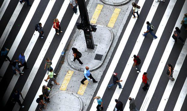 Faixa De Pedestres Av Paulista 01