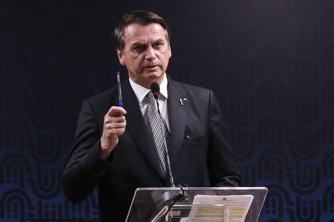 Bolsonaro Bic Valter Campanato Agencia Brasil