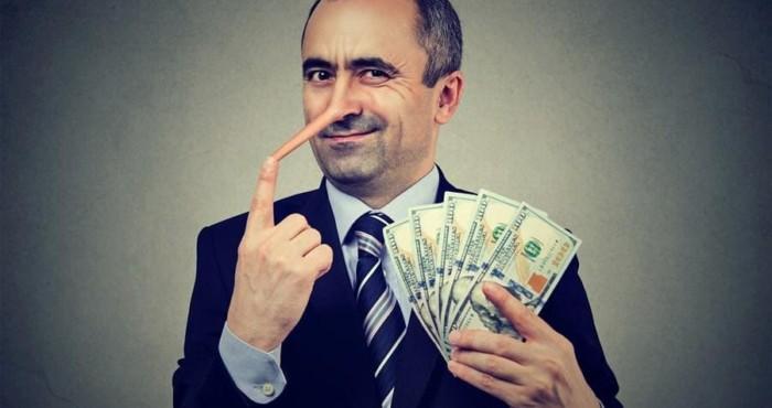 Mentira Mentiroso Fraude